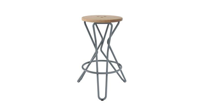 Olly bar stool medium junction fifteen treniq 7 1525164854190