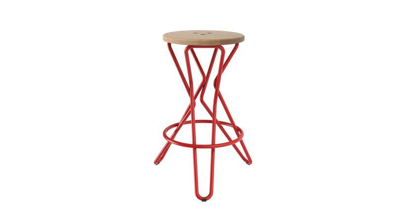 Olly bar stool medium junction fifteen treniq 7 1525164857125
