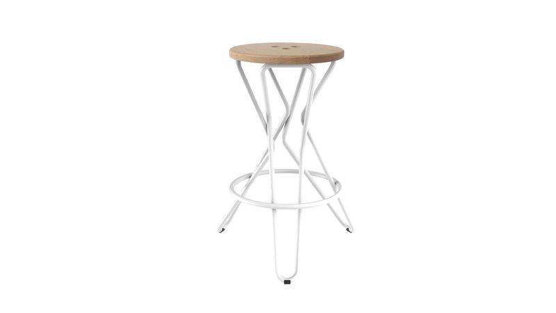 Olly bar stool medium junction fifteen treniq 7 1525164860728
