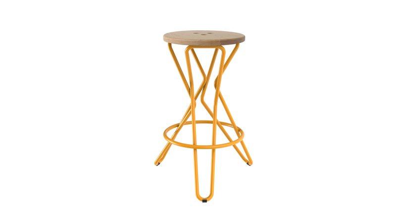 Olly bar stool medium junction fifteen treniq 7 1525164863073