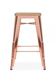 Counter-Height-Copper-And-Rose-Gold-Bar-Stool-Wood-Top_Cielshop_Treniq_0