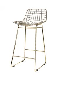 Cool Scandi Style Metal Mesh Bar Stool Bralicious Painted Fabric Chair Ideas Braliciousco