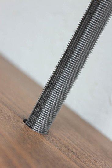 Barnaby bespoke adjustable beech shelves with threaded steel pipe carla muncaster treniq 1 1526294703329