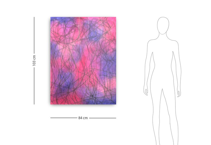 Multicoloured composition vii kevin jones treniq 4
