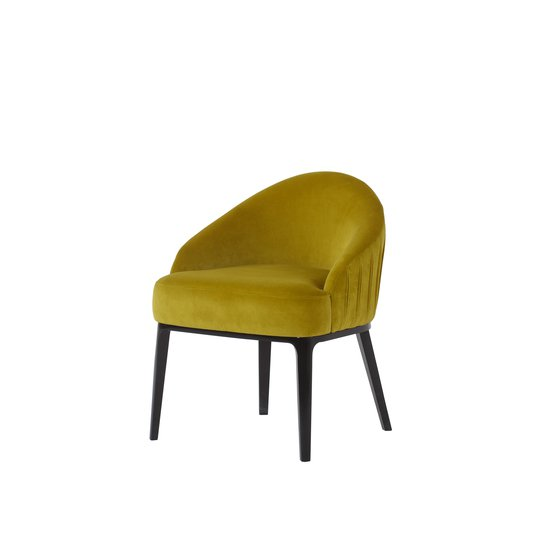 Cersie dining chair vadit lemon fabric  sonder living treniq 1 1526637336426