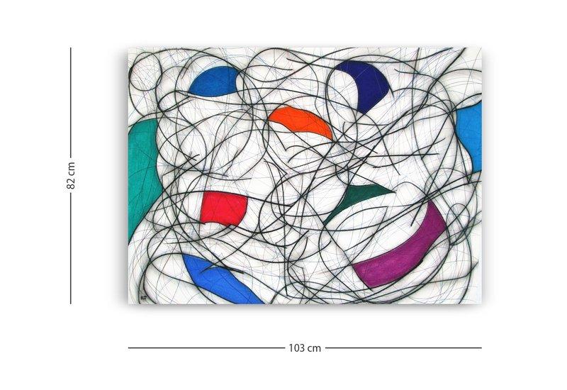 Nine colour abstract vii kevin jones treniq 4