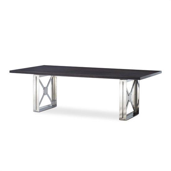 Girder table grey lacquer top  sonder living treniq 1 1526641285943