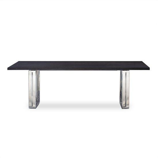 Girder table grey lacquer top  sonder living treniq 1 1526641285961