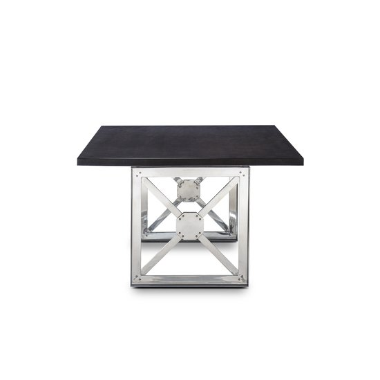 Girder table grey lacquer top  sonder living treniq 1 1526641285968