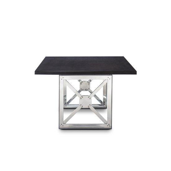 Girder table grey lacquer top  sonder living treniq 1 1526641285969