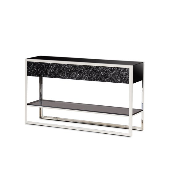 Dexter 2 drawer console stainless steel  sonder living treniq 1 1526643381097