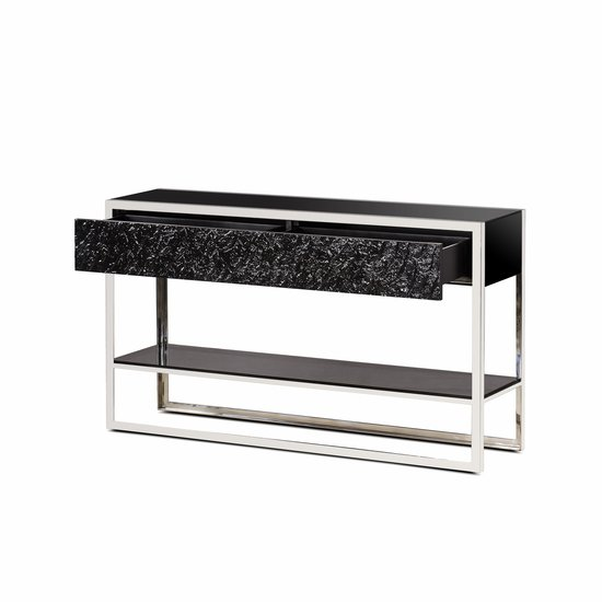 Dexter 2 drawer console stainless steel  sonder living treniq 1 1526643381119