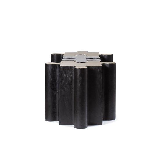 Metal jigsaw coffee table  sonder living treniq 1 1526643637931