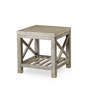 Percival-Side-Table-Shagreen-Top-Champagne-Shagreen-&-Grey-Washed-_Sonder-Living_Treniq_0