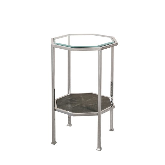Hexagonal accent table  sonder living treniq 1 1526645064603