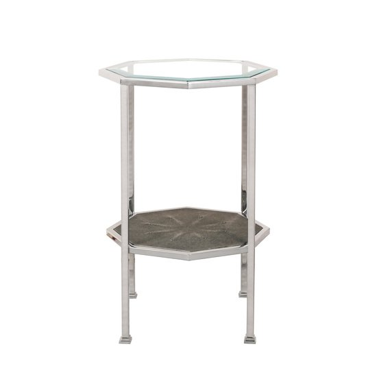 Hexagonal accent table  sonder living treniq 1 1526645064631