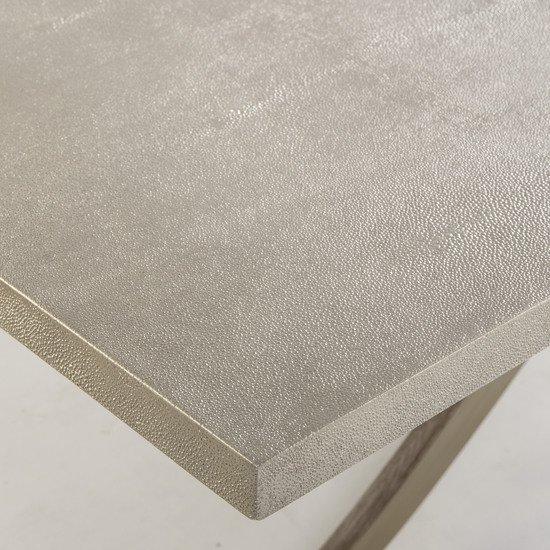 Elizabeth console table shagreen top ss legs  sonder living treniq 1 1526645151659