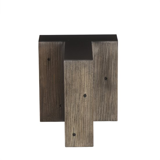 Alphabet side table letter t  sonder living treniq 1 1526646012191