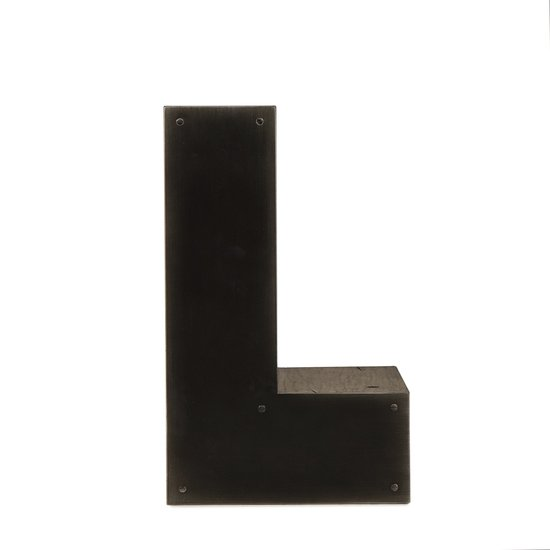 Alphabet side table letter l  sonder living treniq 1 1526648123321
