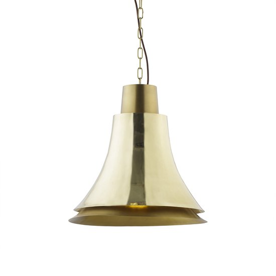 Bell pendant polished brass  sonder living treniq 1 1526878929868