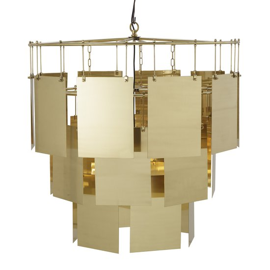Marilyn chandelier large brass  sonder living treniq 1 1526879111403