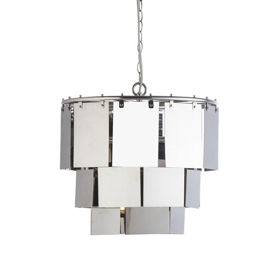 Marilyn small stainless steel chandelier  sonder living treniq 1 1526879178358