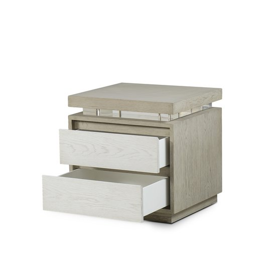 Newman 2 drawer bedside chest  sonder living treniq 1 1526880080509