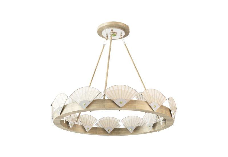 Spectrum large round chandelier mari ianiq treniq 1