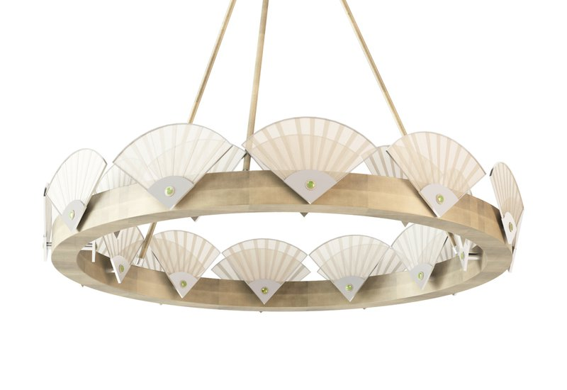 Spectrum large round chandelier mari ianiq treniq 2