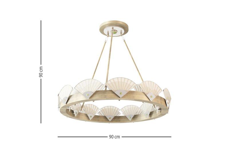 Spectrum large round chandelier mari ianiq treniq 5