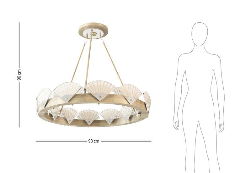 Spectrum large round chandelier mari ianiq treniq 6