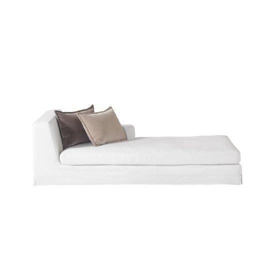 Jackson modular sofa right arm facing chaise warm white  sonder living treniq 1 1526880775777