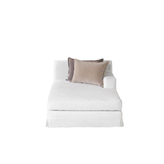Jackson modular sofa right arm facing chaise warm white  sonder living treniq 1 1526880775795