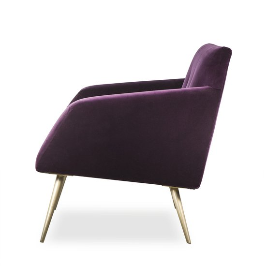 Kelly occasional chair vadit deep purple (uk)  sonder living treniq 1 1526881057229