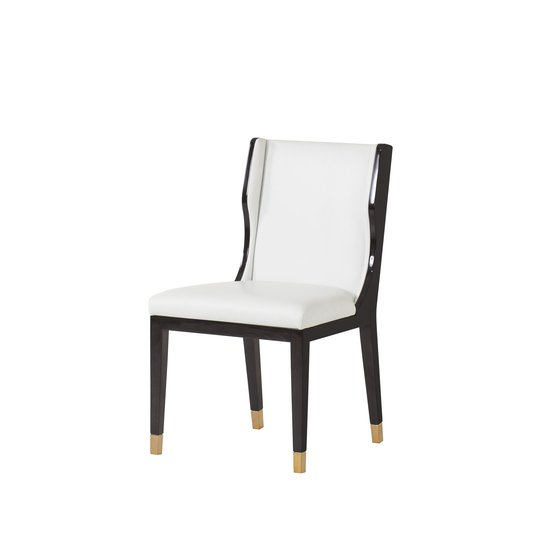 Taylor dining chair white leather  sonder living treniq 1 1526881079620