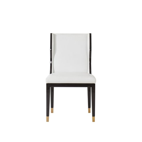 Taylor dining chair white leather  sonder living treniq 1 1526881079645