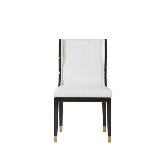 Taylor dining chair white leather  sonder living treniq 1 1526881079648