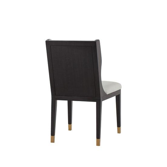 Taylor dining chair white leather  sonder living treniq 1 1526881079627
