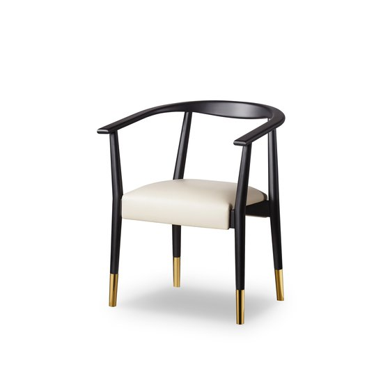 Soho dining chair matt black  sonder living treniq 1 1526882159542