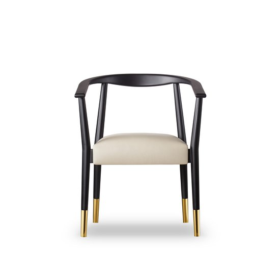 Soho dining chair matt black  sonder living treniq 1 1526882159547