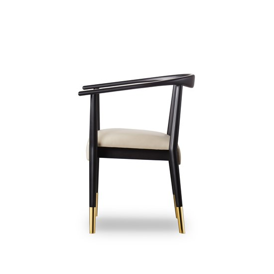 Soho dining chair matt black  sonder living treniq 1 1526882159565