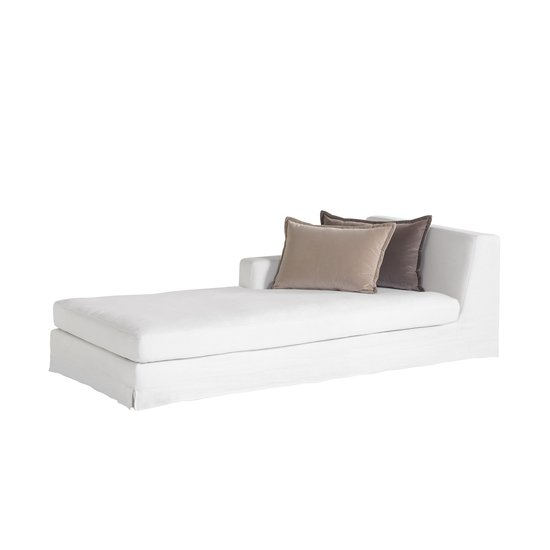 Jackson modular sofa left arm facing chaise warm white  sonder living treniq 1 1526882603494