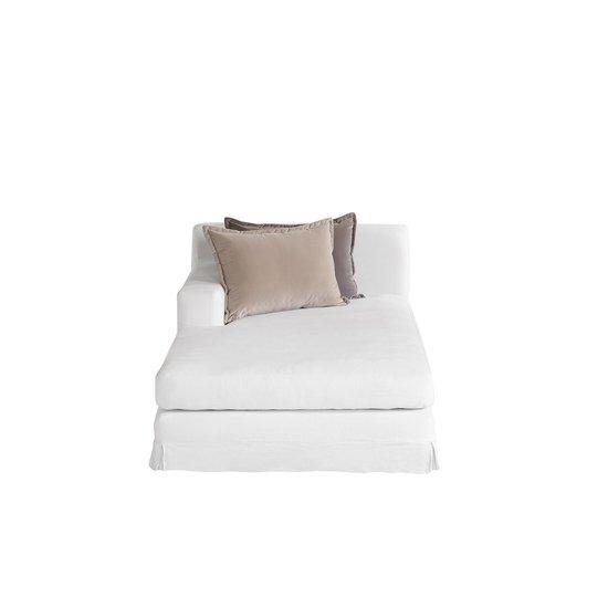 Jackson modular sofa left arm facing chaise warm white  sonder living treniq 1 1526882603522