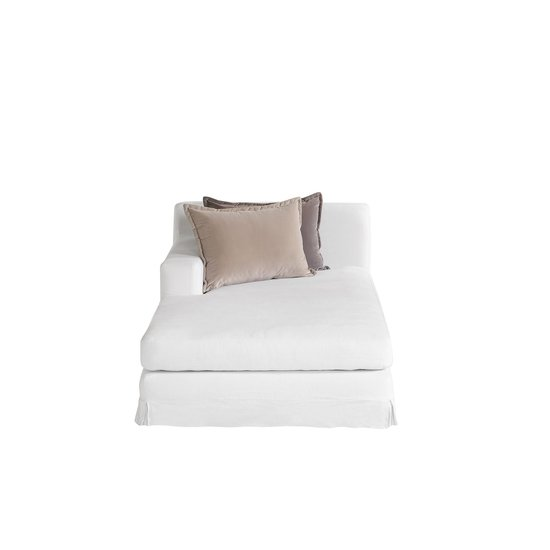 Jackson modular sofa left arm facing chaise warm white  sonder living treniq 1 1526882603519
