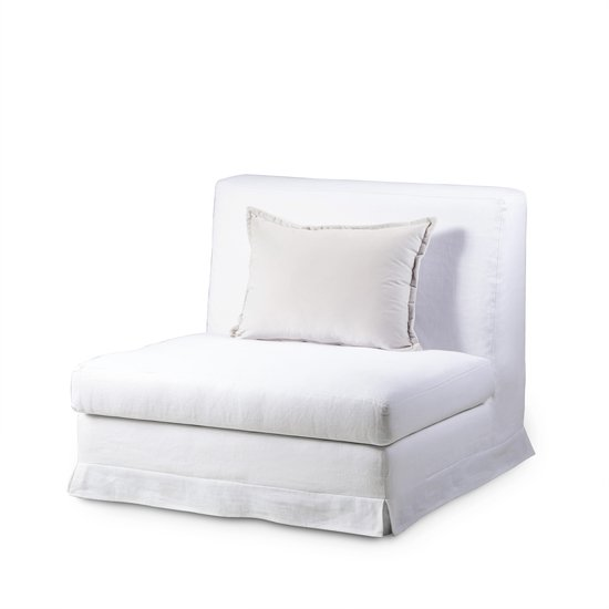 Jackson Modular Sofa 1 Seat No Arms Warm White