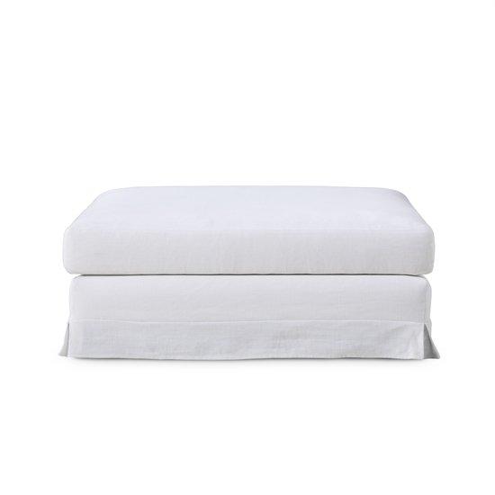 Jackson modular sofa ottoman warm white  sonder living treniq 1 1526882664209