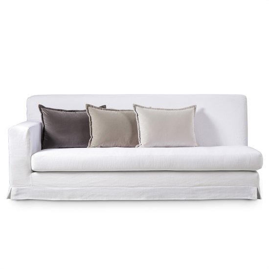 Jackson modular sofa left arm facing warm white  sonder living treniq 1 1526882724771
