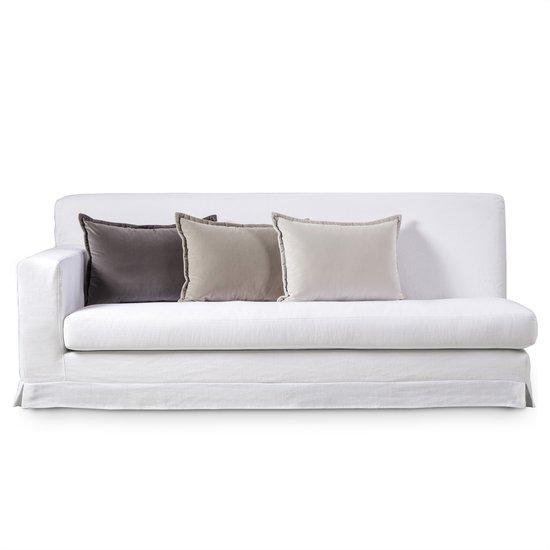 Jackson modular sofa left arm facing warm white  sonder living treniq 1 1526882724779