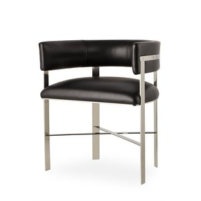 Art-Dining-Chair-Black-Leather-Stainless-Steel-_Sonder-Living_Treniq_0