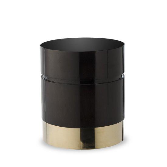 Morrison ottoman round black lacquer  sonder living treniq 1 1526882829206